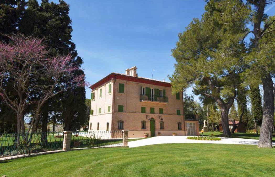 Villa marchigiana ristrutturata