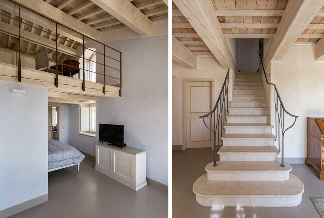 Casa colonica marchigiana ristrutturata dall 39 architetto for Architettura interni case